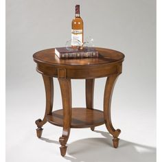 Magnussen T1052 Aidan Wood Round End Table - T1052-05