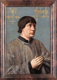 Hans Memling - Portret van Jacob Obrecht (1496)