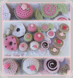 sweets & cake to crochet