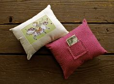 ARTFULIFE- toothfairy pillow!
