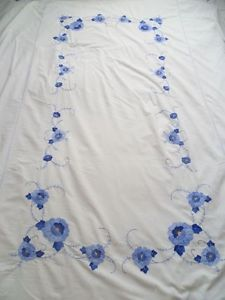 embroidered tablecloth 1940s - Google Search