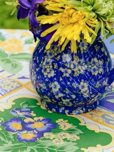 Tile Tablecloth by April Cornell