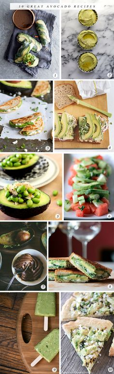 10 Great Avocado Recipes - Bubby and Bean