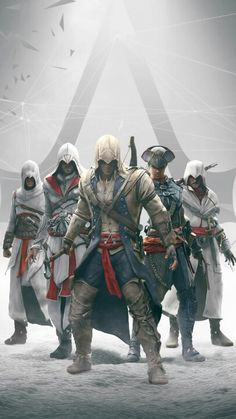 All of the Assassins in Assassins Creed - I, Brotherhood, II, Revelations, III