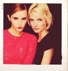 Emma watson & sophie sumner