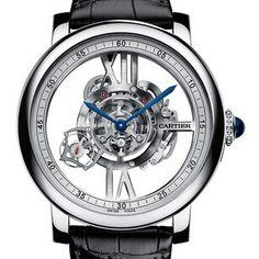 Cartier Astrotourbillion skeleton
