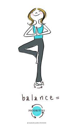 Balance = Priorities