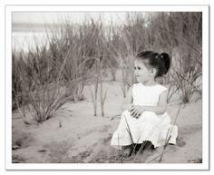 Kids photo beach