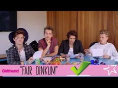 The Vamps decode Aussie slang - YouTube