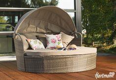 Pure eenvoud, is ook een vorm van luxe! Het Summerland #ligbed zal bijdragen aan een heerlijk comfortabel buitenleven. Genieten van het mooie weer doet u samen met #Hartman!
