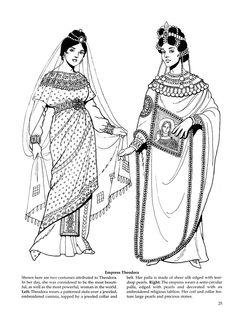 Byzantine Fashions 21  #Byzantine #garb #SCA