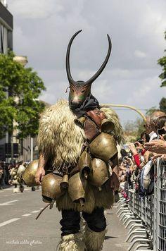 Boes maschere tipiche del carnevale di Ottana alla cavalcata di Sassari!!!