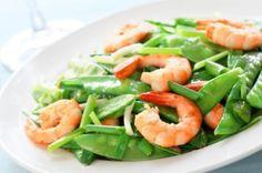 Shrimp and Snow Peas