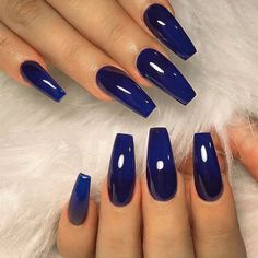 Summer Wearable Long Square Head Fake Nail Tips Women Manicure Decorations Blue Artificial Nails Pat Summer Wearable Long Square Head Fake Nail Tips Women Manicure Decorations Blue Artificial Nails Dark Blue Nails, Blue Coffin Nails, Bright Blue Nails, Bright Summer Acrylic Nails, Blue Acrylic Nails, Blue Gel Nails, Pink Nail, Gold Nails, Stiletto Nails
