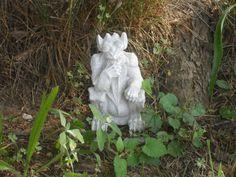 New Concrete Gargoyle Garden Statue. by PourBoyCeramics on Etsy, $14.99