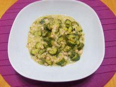 Zuppa zucchine e fagioli http://www.lovecooking.it/risotti-e-zuppe/zuppa-zucchine-e-fagioli/