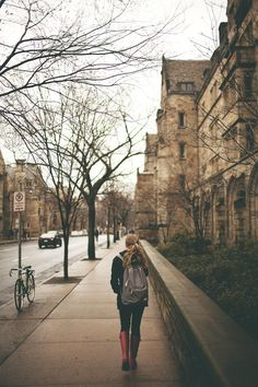 Along York Street, Yale University, New Haven, CT Love walking around this campus- so old and beautiful Skye Terrier, Nada Personal, Tumblr Hipster, Paisley, York Street, Autumn Street Style, Fall Photos, Adventure Is Out There, New England