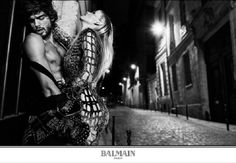 Lara Stone & Natasha Poly Headline BALMAIN ARMY By Olivier Rousteing Fall/Winter 2017.18 Campaign