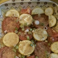 Crookneck Squash and Tomatoes Allrecipes.com