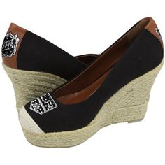 Buy Cuce Shoes New York Jets Women's The Groupie Espadrille Wedge Sandals - Black now from the Official New York Jets Store. Enjoy fast shipping at flat rates on every order of Cuce Shoes New York Jets Women's The Groupie Espadrille Wedge Sandals - Black. Denver Broncos, Pittsburgh Steelers, Seattle Seahawks, Pittsburgh Penguins, Chicago Blackhawks, Cincinnati Bengals, Broncos Gear, Falcons Gear, Redskins Gear