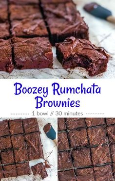 Chocolate and cinnamon are always a great pairing which is why Boozy Rumchata Brownies laced with sweet vanilla, mocha, and warm cinnamon make for a decadent treat with just a hint of rum. Rumchata Recipes, Rumchata Drinks, Fireball Recipes, Baking Recipes, Dessert Recipes, Bar Recipes, Alcohol Drink Recipes, Desserts With Alcohol, Rum Alcohol