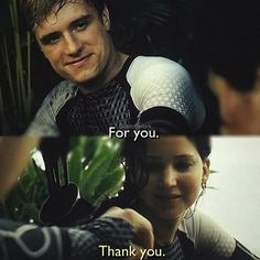 Love that part!! And the smile on Peeta's face! <3 Ugh so cute <3