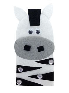 zebra finger puppet - Google Search