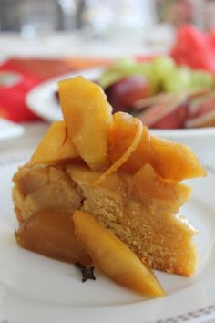 Spiced Apple and Polenta Cake