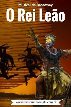 Veja aqui minha experiência com o musical O Rei Leão na Broadway em Nova York #viagem #destinos #novayork #broadway