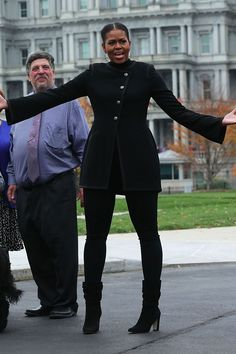 Michelle Obama May Be Excited About a Christmas Tree, but We're Excited About Her Shoes