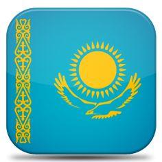 Bandeira Cazaquistao.#JORGENCA