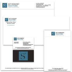 S2 Retirement Solutions Stationery set