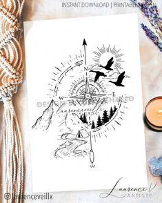 Neue Tattoos, Body Art Tattoos, Sleeve Tattoos, Cool Tattoos, Piercing Tattoo, I Tattoo, Piercings, Tattoo Aquarelle, Outdoor Tattoo