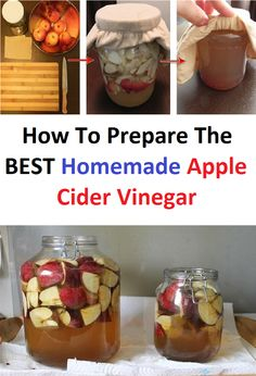 How To Prepare The BEST Homemade Apple Cider Vinegar