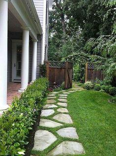 90 beautiful side yard garden decor ideas (72)