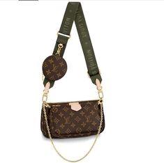 A stylish and cute LV bag for ladies. Crossbody Louis Vuitton, Sac Bandoulière Louis Vuitton, Vintage Louis Vuitton, Louis Vuitton Handbags, Louis Vuitton Monogram, Louis Vuitton Mini Pochette, Lv Handbags, Leather Handbags, Brown Handbags