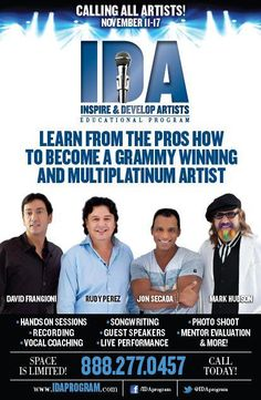 """""""The IDA Program has literally changed my life."""" - Core Preme, IDA Participant.    Experience how it will change your life too!    Sign up now at www.idaprogram.com for our November program."""