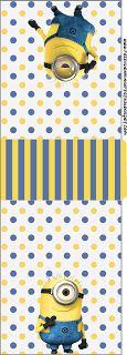 Minions (Meu Malvado Favorito 2) – Kit Completo com molduras para convites, rótulos para guloseimas, lembrancinhas e imagens! | Fazendo a No...