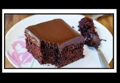 Here's for you the deliciously awesome The Best Chocolate Cake With Chocolate Ganache. So just go and grab this recipe now! Super Moist Chocolate Cake, Eggless Chocolate Cake, Best Chocolate Cake, Chocolate Ganache, Delicious Chocolate, Crazy Cakes, Chocolate Sauce Recipes, Microwave Cake, Greek Desserts