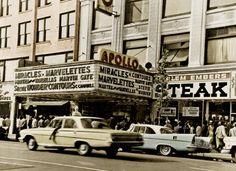 Vintage Motown at the Apollo Theatre — The Miracles, The Marvelettes, Martha & The Vandellas, Marvin Gaye, Stevie Wonder & The Contours Otis Williams, Berry Gordy, Apollo Theater, Theatre, Tamla Motown, Gladys Knight, Smokey Robinson, Number One Hits, Four Tops