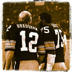 Terry Bradshaw & Joe Greene - Pittsburgh Steelers