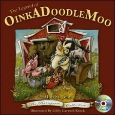 """The Legend of OinkADoodleMoo (2013 Finalist - Picture Books) — IndieFab Awards - """"Exuberant, colorful, and superlatively upbeat, this rhyme-and-rhythm treat is simply fun."""" Read more: http://fwdrv.ws/1rnqOZJ"""