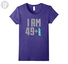 Womens 50th Birthday Vintage Made in 1967 Gift ideas  XL Purple - Birthday shirts (*Amazon Partner-Link)