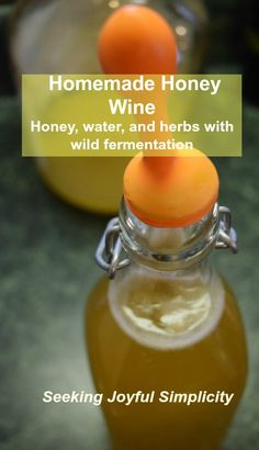 Delicious and simple! Homemade Honey Wine - Honey, Water, and Wild Fermentation Delicious and simple! Homemade Honey Wine - Honey, Water, and Wild Fermentation Homemade Wine Recipes, Homemade Alcohol, Homemade Liquor, Beer Recipes, Drinks Alcohol Recipes, Alcoholic Drinks, Beverages, Cocktails, Yummy Drinks