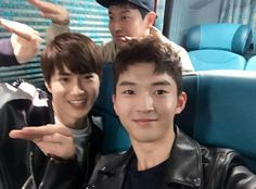 160404 Kim Heechan IG update with SUHO  -R-