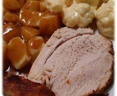 Rezept All in One - Schweinebraten alla Nicki Jott mit Kartoffeln und Blumenkohl Sauce Hollondaise von Thermitrulla - Rezept der Kategorie Hauptgerichte mit Fleisch