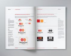 Visual Identity Manual by Karen Lin, via Behance