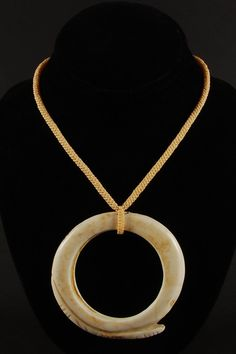 Papua New Guinea - Clam shell currency necklace
