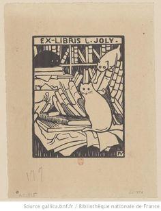 Ex-libris L. Joly. : Félix Vallotton