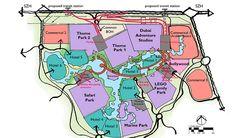 Dubai Parks & Resorts Conceptual Master Plan
